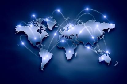 Figura 1. Infrastruktura globale e Internetit (Delany & Co., 2015)