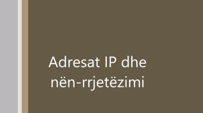 Adresat IP
