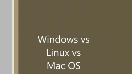 Windows vs Linux vs OS X