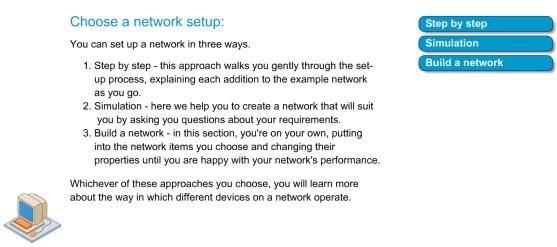 Setup network